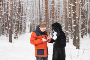 Dating in the winter months